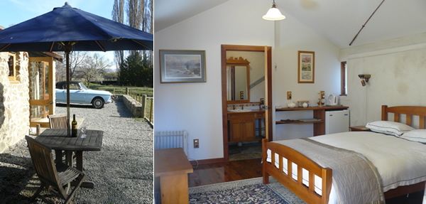 Enjoy a stay in our rustic and comfortable stone hut accommodation